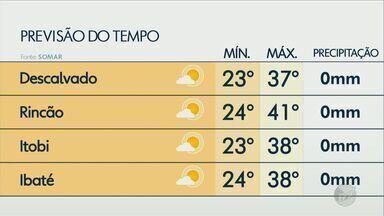 Veja como fica o tempo nesta quinta-feira na região - Confira a previsão para Descalvado, Rincão, Itobi e Ibaté.