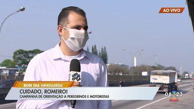 Campanha de orientação a romeiros e motoristas - Confira as informações.