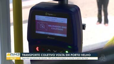 Nova empresa de ônibus começa a atuar em Rondônia - 20 veículos saíram da garagem da empresa às 6h30 da manhã desta quinta-feira.