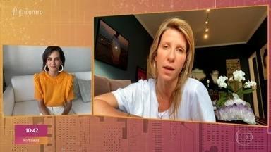 Amigas mandam recado para Fernanda Motta - Modelo se emociona e agradece apoio de amigas que estiveram ao seu lado durante o tratamento contra o câncer de mama