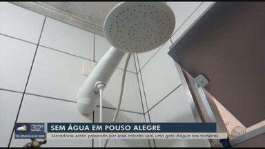 Moradores reclamam de falta de água em bairro de Pouso Alegre (MG) - Moradores reclamam de falta de água em bairro de Pouso Alegre (MG)