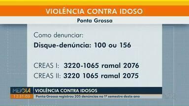 Ponta Grossa registra 205 denúncias de violência contra idosos no 1º semestre de 2020 - Denúncias podem ser feitas pelos telefones 100 e 156.