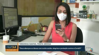 Telespectadores participam do Meio-Dia Paraná desta quinta-feira (1º) com mensagens - Envie a sua participação para (42) 99974-0062 ou pelo app Você na RPC.