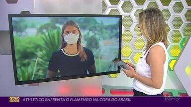 Athletico tem Flamengo pelo caminho no Brasileirão e na Copa do Brasil - Furacão teve forte desgaste nos últimos dias e pode ter mudanças no jogo de domingo (4) no Maracanã; reencontro na Copa do Brasil foi definido em sorteio