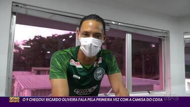 Ricardo Oliveira, a esperança de gols do Coritiba - Centroavante assinou contrato até maio de 2021 e já garantiu a camisa 9 do Coxa