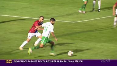 Paraná Clube avalia últimos resultados na Série B - Após início arrasador, Tricolor tem sequência de dois empates