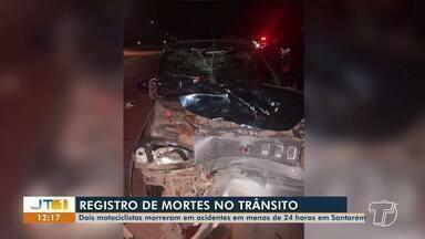 Duas pessoas morrem em acidentes de trânsito nos bairros Interventoria e Matinha - Casos foram registrados como homicídios culposos na 16ª Seccional de Polícia Civil.