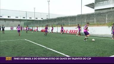Garotos do CSP têm sido sondado por grandes clubes do Brasil e do exterior - Clube volta a ser destaque no mercado de atletas oriundos das categorias de base