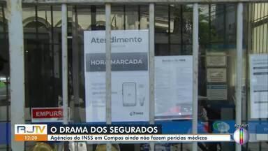Agências do INSS em Campos, RJ, ainda não fazem perícias médicas - Apenas Cabo Frio e São Pedro da Aldeia estão oferecendo o serviço entre as cidades que recebem o sinal da Inter TV.