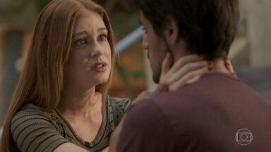 Eliza diz a Jonatas que não quer ficar com Arthur - A modelo pede que Jonatas mude de ideia e não termine o namoro