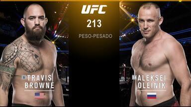 UFC 213: Romero x Whittaker - Travis Browne x Alexey Oliynyk - Luta entre Travis Browne x Alexey Oliynyk, válida pelo UFC 213: Romero x Whittaker, em 08/07/2017.