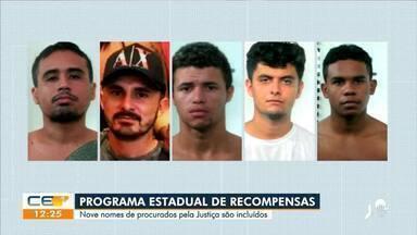 Nove nomes são incluídos na listas de recompensa de procurados pela Justiça - Saiba mais no g1.com.br/ce