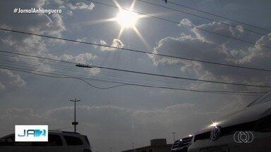 Goiânia marca 41°C e bate novo recorde de temperatura - Veja a previsão do tempo.