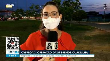 Overload: Operação da PF prende quadrilha - Integrantes operavam em SP e em outros estados como o Amazonas
