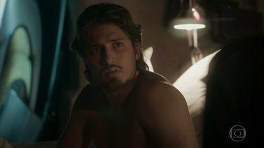 Rafael pede Leila em namoro - Leila diz a Rafael que não terá romance entre eles. Jonatas se despede de Eliza