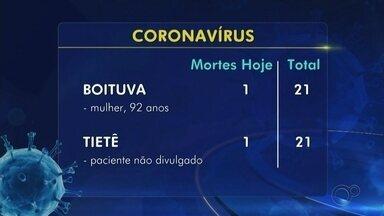 Confira o balanço de casos e mortes confirmadas de coronavírus na região de Itapetininga - Confira o balanço de casos e mortes confirmadas de coronavírus na região de Itapetininga (SP).