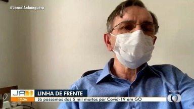 Infectologista fala sobre casos de Covid-19 em Goiás - Estado já soma mais de 5 mil mortes e 224 mil infectados.