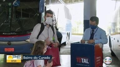 TIP reforça medidas contra Covid-19 no feriadão de Nossa Senhora Aparecida - Rodoviária começa a testar sistema de inteligência artificial para coibir passageiros sem máscara.