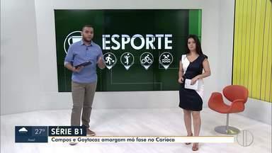 Confira a rodada de jogos da série B1 do campeonato Carioca - Veja quais times do interior do Rio vão jogar neste sábado e domingo.