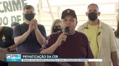 Ibaneis diz que sindicalistas têm culpa na crise da CEB - Declarações foram feitas durante assinatura de decreto sobre energia.