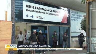 Pacientes reclamam de falta de imunoglobulina humana - Secretaria Estadual de Saúde confirma o desabastecimento do remédio.