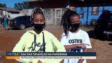Dia das crianças especial pra comunidades carentes da região de Curitiba - Meio-dia Paraná acompanhou 2 entregas de brinquedos em Curitiba e região metropolitana. As crianças falam como estão enxergando o dia delas bem no meio da pandemia