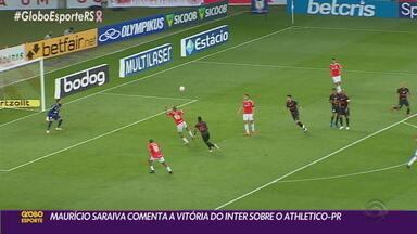 Maurício Saraiva analisa vitória do Inter e a vice-liderança no Brasileirão - Heitor voltou a ser um dos destaques da partida.