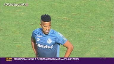 Comentarista Maurício Saraiva explica por onde passou a derrota do Grêmio para o Santos - Assista ao vídeo.