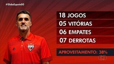 Veja os bastidores da saída de Vagner Mancini do Atlético-GO - Treinador que se acertou com o Corinthians chegou a ficar irritado com perguntas sobre o tema, mas deixou o Dragão após vitória sobre o Bragantino.