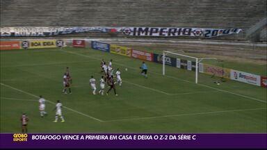 Botafogo-PB bate o Ferroviário e volta a vencer pela Série C - Botafogo-PB bate o Ferroviário e volta a vencer pela Série C