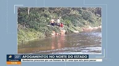 Bombeiros procuram por um homem de 51 anos que saiu para pescar - Bombeiros procuram por um homem de 51 anos que saiu para pescar