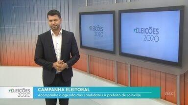 Eleições 2020: Agenda dos candidatos a prefeito de Joinville - Eleições 2020: Agenda dos candidatos a prefeito de Joinville
