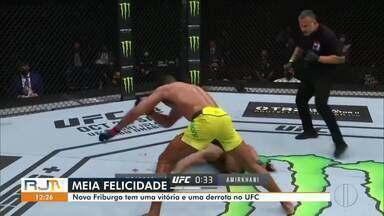 Friburguenses sobem ao octógono do UFC - Edson Barboza venceu Makwan Amirkhani por decisão unânime. Já Marlon Moraes perdeu para Cory Sandhagen por nocaute técnico.