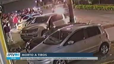 Suspeito de matar adolescente se entrega à polícia em Poços de Caldas - Suspeito de matar adolescente se entrega à polícia em Poços de Caldas