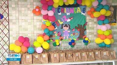 Almir do Picolé realiza festa do Dia das Crianças - Almir do Picolé realiza festa do Dia das Crianças.