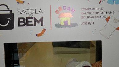Sacola do Bem vai beneficiar o Cecan - Projeto do shopping de Mogi das Cruzes vai arrecadar doações para que a entidade coloque à venda no seu brechó.