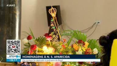 Manaus tem homenagens à Nossa Senhora Aparecida - Dia também foi dedicado à padroeira do Brasil