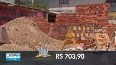 Custos para construir sobem 8% e Amapá tem maior alta do país, segundo IBGE - Custos para construir sobem 8% e Amapá tem maior alta do país
