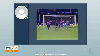 Veja defesa do goleiro valadarense Matheus Mendes na Série B - Intervenção ocorreu durante o empate contra o Avaí.