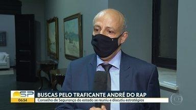 Conselho de Segurança de SP se reúne para discutir fuga de traficante André do rap - Cúpulas da policia Civil e Militar tiveram encontro com governador na noite desta quarta.