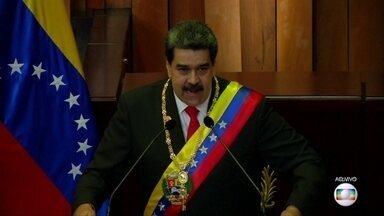 Nicolás Maduro mexe no calendário e altera a comemoração do Natal - Inesperadamente, Nicolás Maduro decretou que as celebrações natalinas na Venezuela começavam nesta quinta (15), com o objetivo de 'espalhar felicidade'.