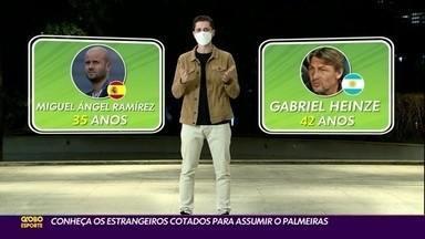 Conheça os estrangeiros cotados para assumir o Palmeiras - Conheça os estrangeiros cotados para assumir o Palmeiras