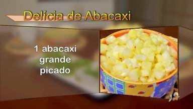 Delícia de abacaxi para refrescar nesse calor - Saiba mais no g1.com.br/ce