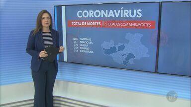 Coronavírus: Indaiatuba registra mais nove casos e chega a 7.571; veja atualizações - Cidade não registrou novas mortes neste sábado (17) e total permanece em 218.