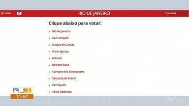 Projeto do G1 e do Bom Dia Rio quer ouvir os eleitores de Volta Redonda - Votação é para saber qual a prioridade dos eleitores na escolha do chefe do executivo municipal.