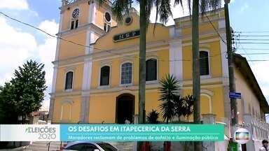 Novo prefeito de Itapecerica da Serra terá que enfrentar desafios na mobilidade - Município tem 9 candidatos a prefeito este ano.