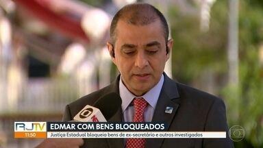 Edmar Santos tem bens boqueados pela Justiça do Rio - Decisão da 6ª Vara de Fazenda Pública também bloqueou bens de ex-subsecretários Gabriell Neves e Gustavo Borges e de empresas investigadas.