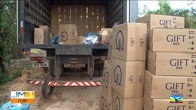 Operação da PF apreende cigarros contrabandeados em São Luís - Uma pessoa identificada como dono da carga também foi presa.