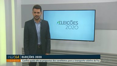 Confira quais são as propostas dos candidatos para o transporte coletivo de Foz - Meio-Dia Paraná acompanha a agenda dos candidatos a prefeito.