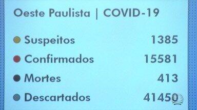 Confira as últimas atualizações de coronavírus no Oeste Paulista - Número de casos aumenta nas cidades da região.